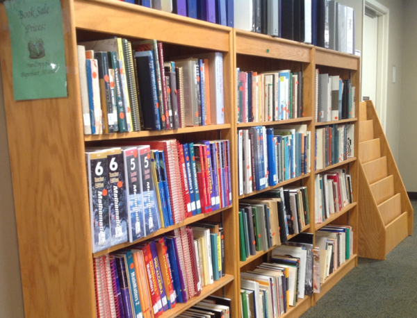 MLRC New Books Shelf